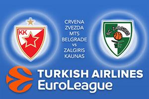 Crvena Zvezda mts Belgrade v Zalgiris Kaunas