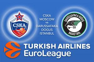 CSKA Moscow v Darussafaka Dogus Istanbul