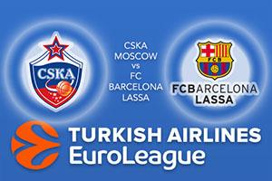 CSKA Moscow v FC Barcelona Lassa