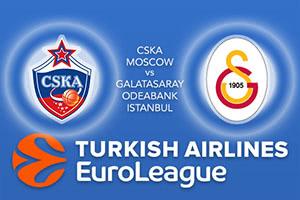CSKA Moscow v Galatasaray Odeabank Istanbul
