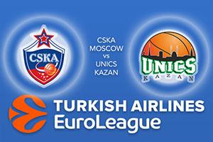 Euroleague Predictions – CSKA Moscow v UNICS Kazan