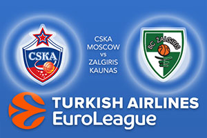 CSKA Moscow v Zalgiris Kaunas - Euroleague Betting Tips