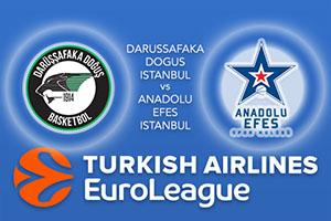 Euroleague Predictions – Darussafaka Dogus Istanbul v Anadolu Efes Istanbul