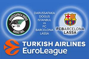 Darussafaka Dogus Istanbul v FC Barcelona Lassa
