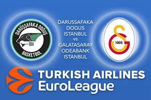 Darussafaka Dogus Istanbul v Galatasaray Odeabank Istanbul