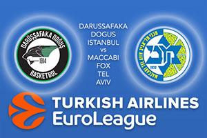Darussafaka Dogus Istanbul v Maccabi FOX Tel Aviv