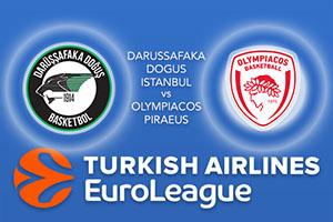 Darussafaka Dogus Istanbul v Olympiacos Piraeus