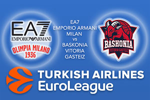 EA7 Emporio Armani Milan v Baskonia Vitoria Gasteiz - Euroleague Betting Tips
