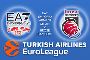 EA7 Emporio Armani Milan v Brose Bamberg