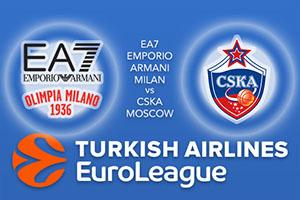 EA7 Emporio Armani Milan v CSKA Moscow