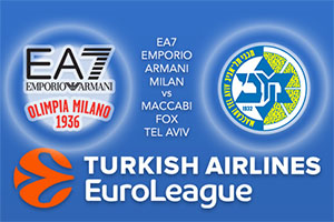 Euroleague Predictions - EA7 Emporio Armani Milan v Maccabi Fox Tel Aviv