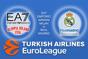 Euroleague Predictions – EA7 Emporio Armani Milan v Real Madrid