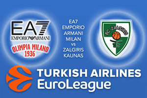 EA7 Emporio Armani Milan v Zalgiris Kaunas