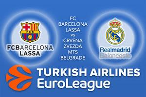 FC Barcelona Lassa v Crvena Zvezda mts Belgrade