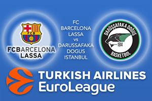 FC Barcelona Lassa v Darussafaka Dogus Istanbul