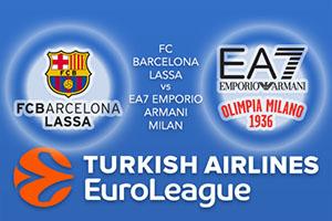 FC Barcelona Lassa v EA7 Emporio Armani Milan