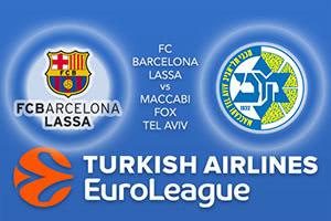 FC Barcelona Lassa v Maccabi FOX Tel Aviv