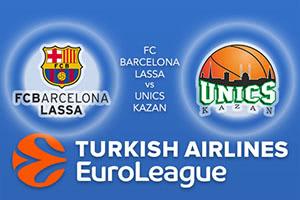 FC Barcelona Lassa v Unics Kazan
