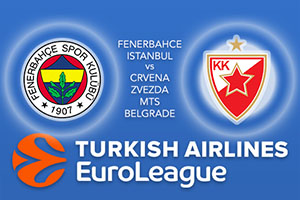 Fenerbahce Istanbul v Crvena Zvezda mts Belgrade