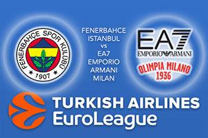Fenerbahce Istanbul v EA7 Emporio Armani Milan