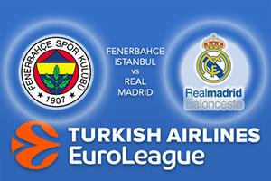 Fenerbahce Istanbul v Real Madrid