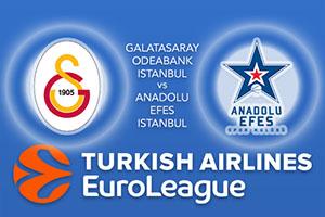 Galatasaray Odeabank Istanbul v Anadolu Efes Istanbul