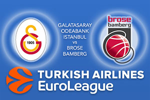 Galatasaray Odeabank Istanbul v Brose Bamberg