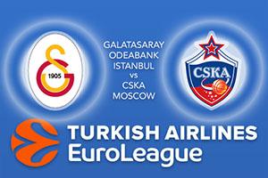 Euroleague Predictions - Galatasaray Odeabank Istanbul v CSKA Moscow