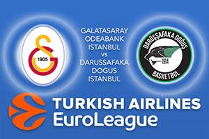 Galatasaray Odeabank v Darussafaka Dogus - Euroleague Betting Tips