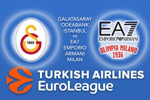 Galatasaray Odeabank Istanbul v EA7 Emporio Armani Milan