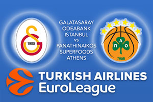 Galatasaray Odeabank v Panathinaikos Superfoods Athens