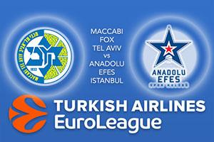 Maccabi FOX Tel Aviv v Anadolu Efes Istanbul