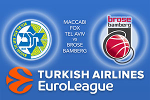 Maccabi FOX Tel Aviv v Brose Bamberg