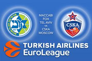 Maccabi FOX Tel Aviv v CSKA Moscow
