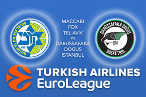 Maccabi FOX Tel Aviv v Darussafaka Dogus Istanbul