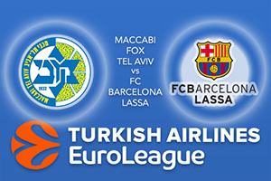 Euroleague Predictions – Maccabi Fox Tel Aviv v FC Barcelona Lassa