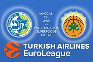 Maccabi FOX Tel Aviv v Panathinaikos Superfoods Athens