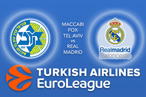 Euroleague Predictions - Maccabi Fox Tel Aviv v Real Madrid