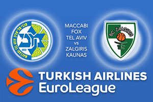 Maccabi FOX Tel Aviv v Zalgiris Kaunas