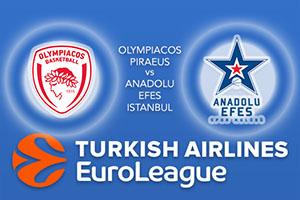 Olympiacos Piraeus v Anadolu Efes Istanbul
