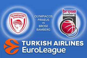 Olympiacos Piraeus v Brose Bamberg