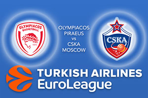 Euroleague Predictions – Olympiacos Piraeus v CSKA Moscow