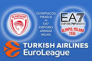 Euroleague Predictions – Olympiacos Piraeus v EA7 Emporio Armani Milan