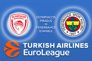 Olympiacos Piraeus v Fenerbahce Istanbul