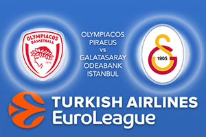 Olympiacos Piraeus v Galatasaray Odeabank Istanbul