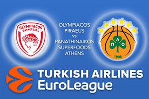 Olympiacos Piraeus v Panathinaikos Superfoods Athens
