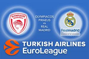 Olympiacos Piraeus v Real Madrid