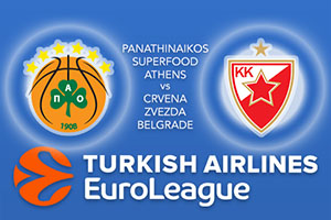 Euroleague Predictions – Panathinaikos Superfood Athens v Crvena Zvezda mts Belgrade