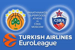Panathinaikos Superfoods Athens v CSKA Moscow