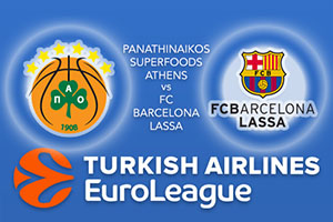 Panathinaikos Superfoods Athens v FC Barcelona Lassa